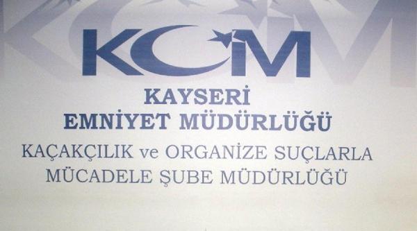 Kayseri'de 10 Kilo Esrar  Ele Geçirildi