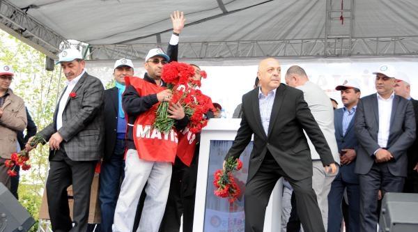 Kayseri'de 1 Mayıs Coşkusu- Ek Fotoğraf