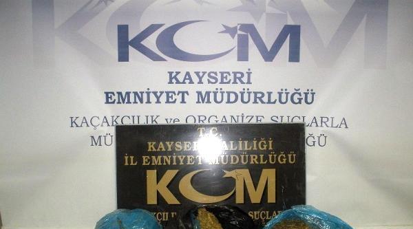 Kayseri'de 23 Kilo Esrar Ele Geçirildi