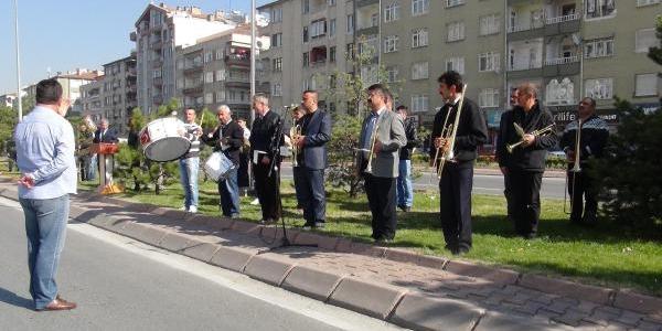 Kayseri'De 29 Ekim Cumhuriyet Bayrami Provasi