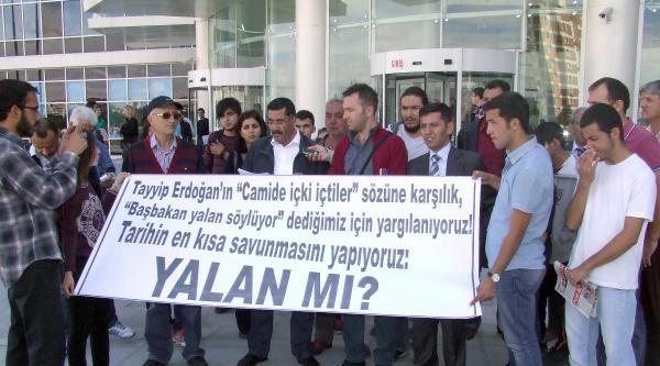 Kayseri'de 2 Kişiye 'başbakan Yalan Söylüyor' Cezası