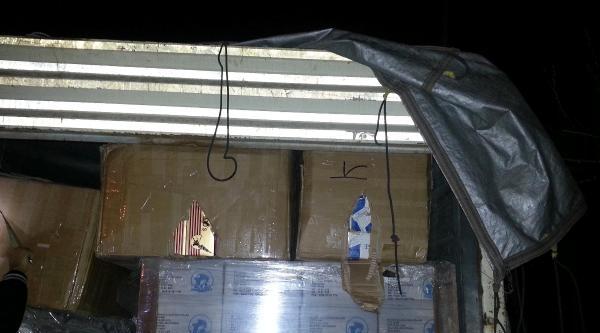 Kayseri'de 50 Bin Paket Kaçak Sigara Ele Geçirildi