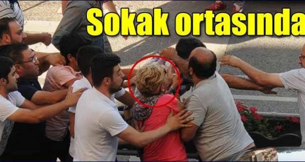 Kayseri'de 7 kişi trafikte birbirine girdi..