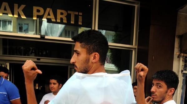 Kayseri'de Ak Partili Gençlerden Erdoğan'a Destek Yürüyüşü