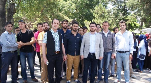 Kayseri'de Ak Partili Gençlerden İsrail'e Tepki