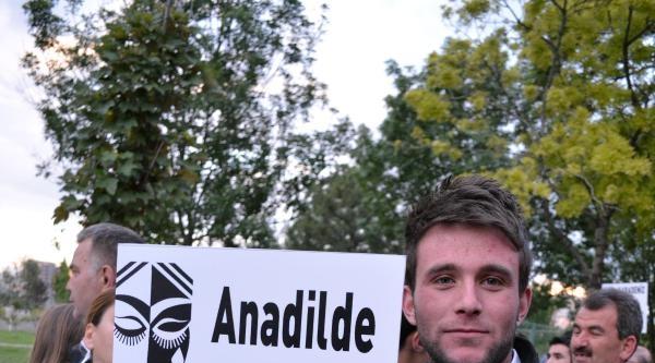 Kayseri'de Çerkezler Sessiz Yürüyüş Yaptı