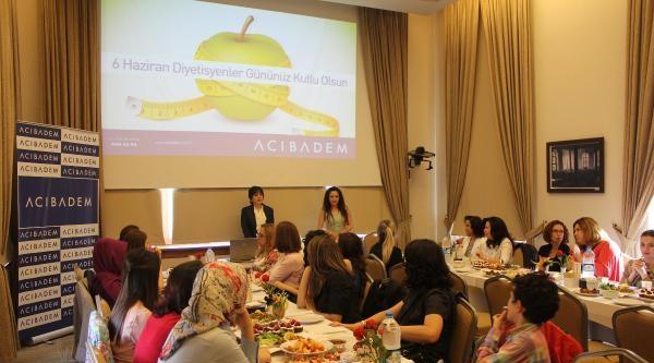 Kayseri'de Diyetisyenler Günü Kutlandı