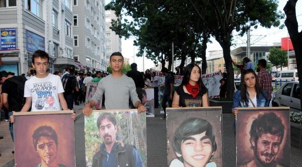 Kayseri'de Gezi Parkı Yürüyüşü