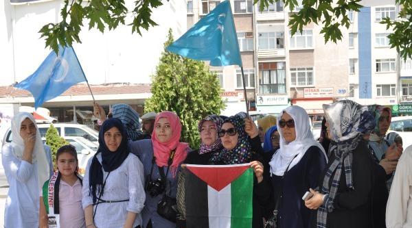 Kayseri'de İsrail Öfkesi