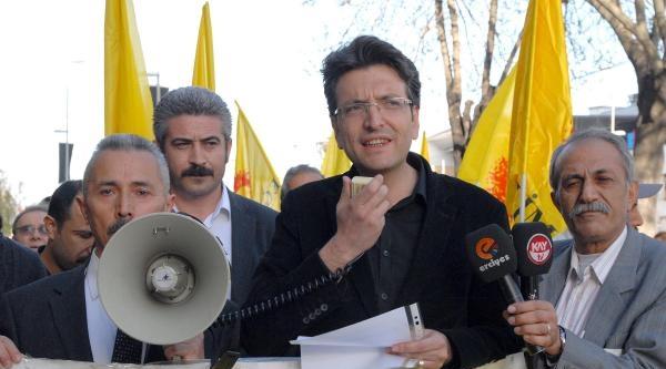 Kayseri'de Mehmet Erez Eylemi
