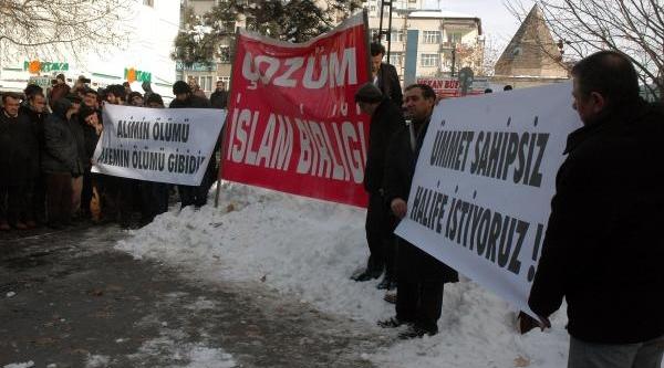 Kayseri'de Molla Için Giyabi Cenaze Namazi