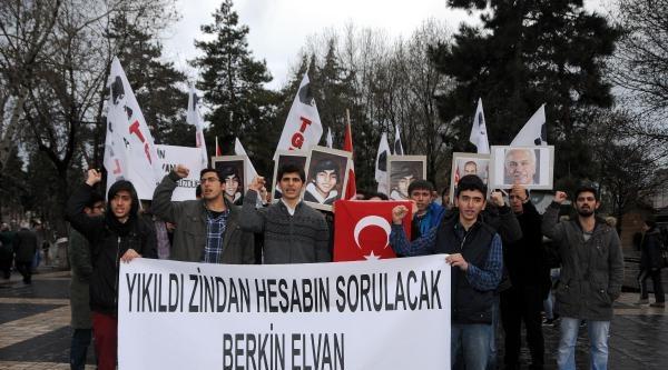Kayseri'de Tgb Üyelerinden Berkin İçin Eylem