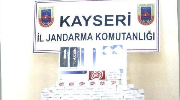 Kayseri'de Uyuşturucu Ve Kaçak Sigara Operasyonu, 3'ü Afgan 6 Gözaltı