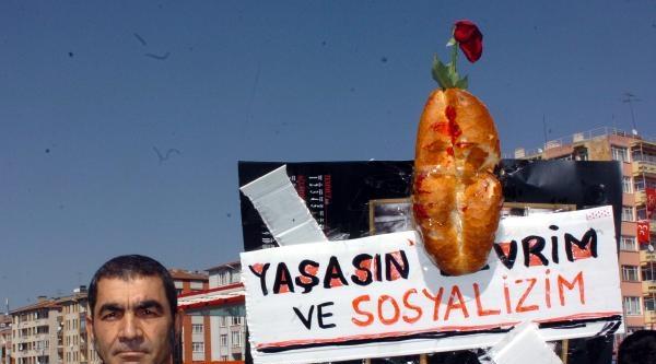 Kayseri'de 'yolsuzluk' Protestosu