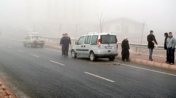 Kayseri'De Zincirleme Trafik Kazasi