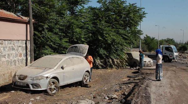 Kayseri'deki Sel Tehlikesi Ucuz Atlatıldı (2)