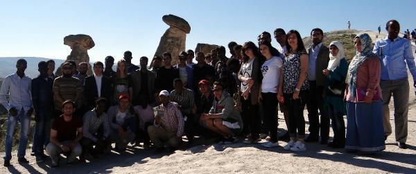 Kayseri'deki Yabancı Öğrenciler Kapadokya'yı Gezdi