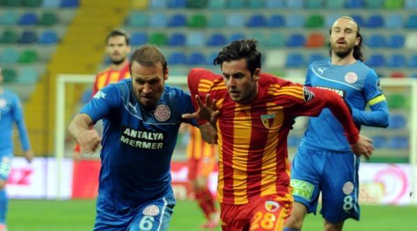 Kayserispor-medicalpark Antalyaspor Maçı Fotoğrafları