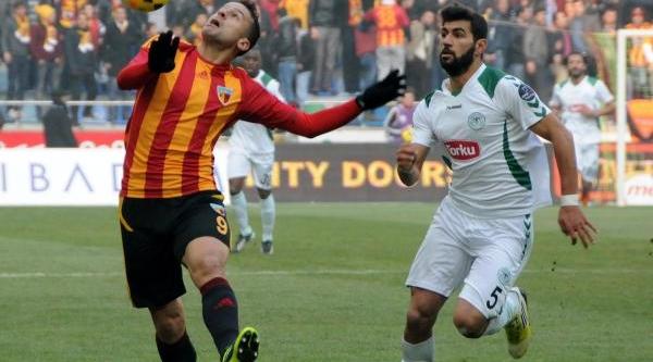 Kayserispor -Torku Konyaspor Fotoğraflari