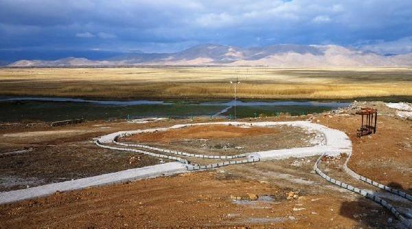 Kaz Gölü Turizme Kazandiriliyor