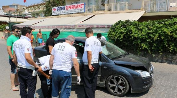 Kaza Sonrası Kaçan Alkollü Sürücü Bıçaklandı