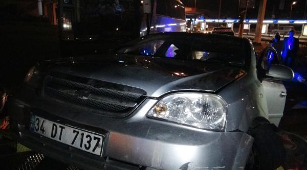 Kaza Yapan Araçtan 2 Kilogram Esrar Çikti