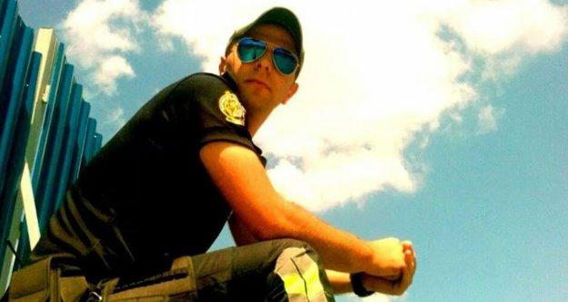 Kaza yapan trafik polisi şehit oldu...