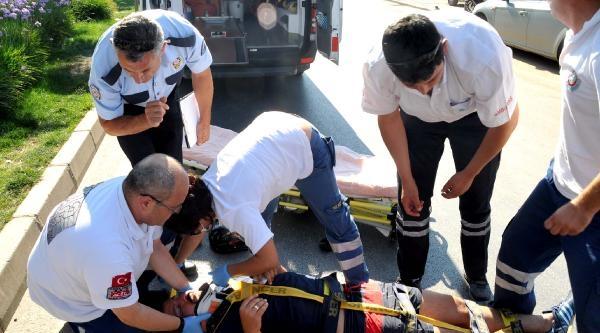 Kazada Yaralanan Anneannesi İçin Ağladı