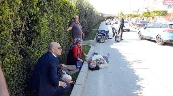 Kazada Yaralanan Çifte Bakan Çelik'in Korumaları Müdahale Etti