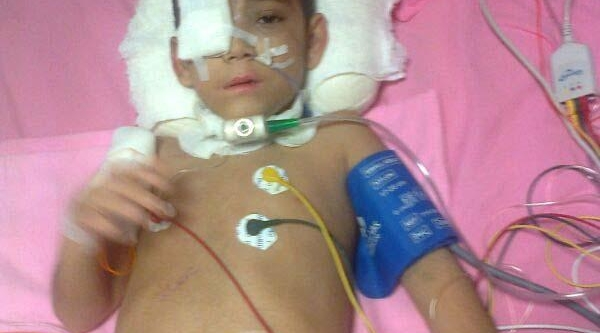 Kazada Yaralanan Küçük Ibrahim'In Yaşam Savaşi