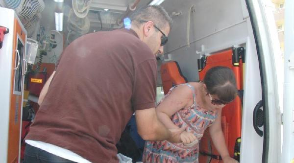 Kazada Yaralanan Küçük Kız İçin Ekipler Seferber Oldu