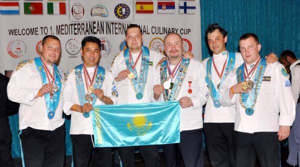 Kazakistan Aşçıları Şampiyon