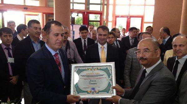 Kazakistan'dan Denizli'ye Teşekkür Belgesi