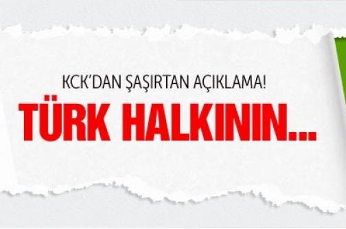 KCK'dan şaşırtan Türk bayrağı açıklaması
