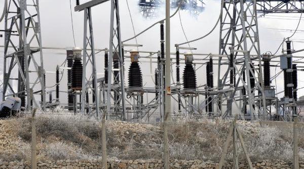 Keban Elektrik Santralinde Yangin