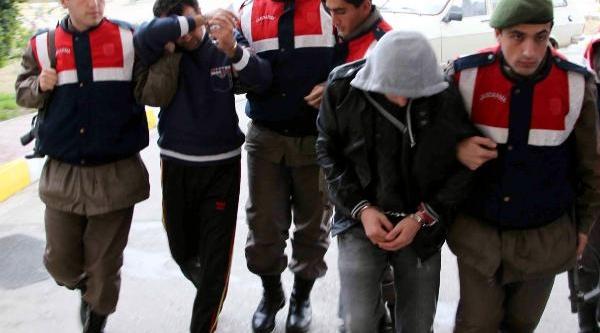Keçi Hirsizlari Tutuklandi