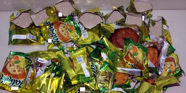Kek Paketlerine Eroin Gizleyen Korucu Yakalandi
