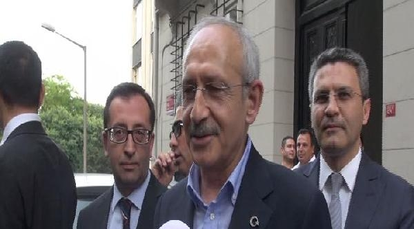 Kemal Kılıçdaroğlu, Kemal Derviş'le Görüştü