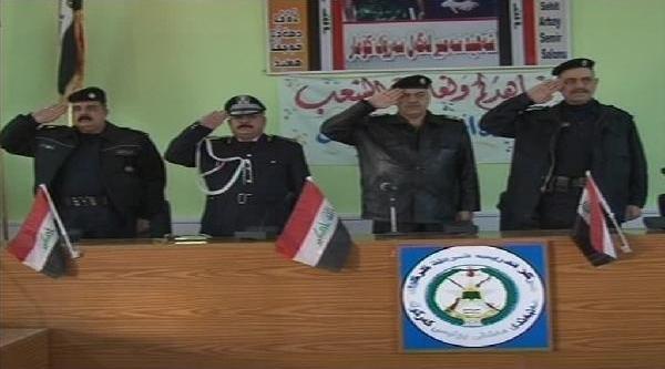 Kerkük'te Teröre Karşi 205 Polis Göreve Başladi