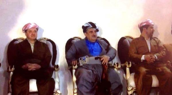 Kerkük'ü Ziyaret Eden Barzani: Kerkük Kürdistan'a Bağlanırsa Kürtlerin Cömertliğini Göreceksiniz-fotoğrafları