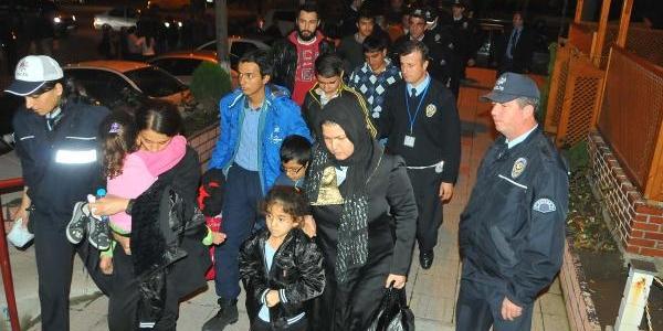 Keşan'da 22 Kaçak Yakalandi