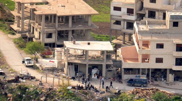 Keseb'te, Öso İle Esad Güçleri Arasında Çatişmalar Devam Ediyor