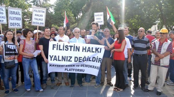 """Kesk Kayseri Dönem Sözcüsü Apaydın: """"akp İsrail'i İncitmek İstemiyor"""""""