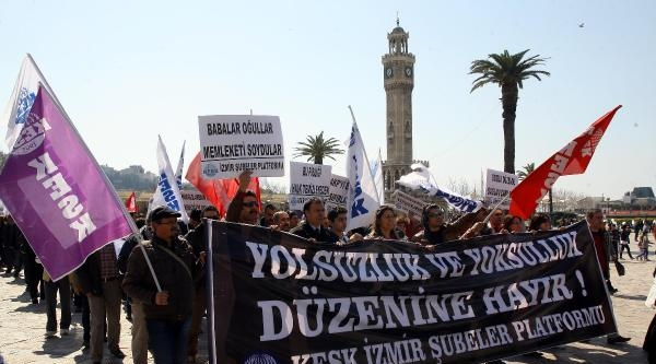 Kesk'den Yolsuzluğu Protesto Eylemi