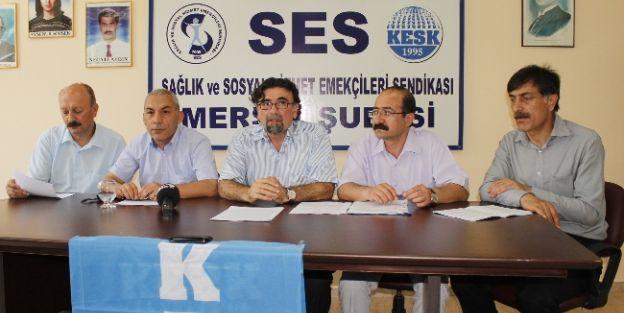 Kesk'e Bağlı Memurlar 5 Haziran'da İş Bırakacak