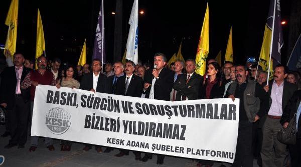 Kesk'ten Gezi Parki Soruşturmalarina Tepki
