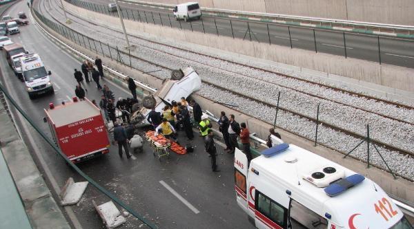 Kestel'de Kavşakta Kaza: 1 Yaralı