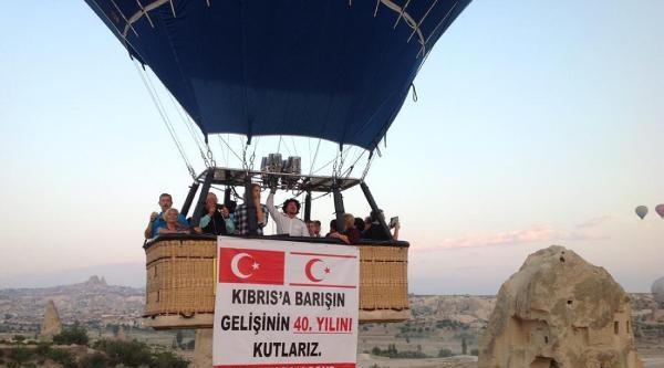 Kıbrıs Barışı Harekatını Göklerde Kutladılar