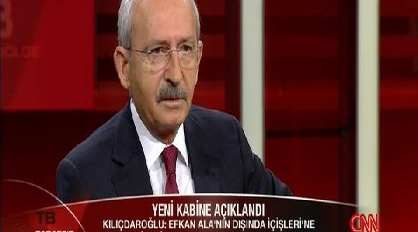 Kiliçdaroğlu: Akp'nin Kendi Bir Derin Devleti Var. O Devletin Unsurlarindan Birisi Efkan Ala'dir