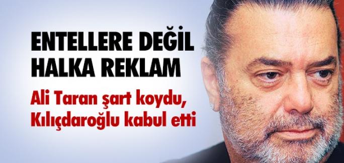 KILIÇDAROĞLU ALİ TARAN'LA ANLAŞTI !